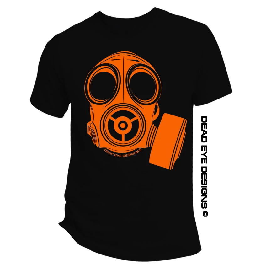 DED Custom Preppie Gas Mask V1 Short Sleeve T-Shirt