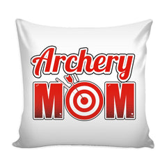 Archery Mom Graphic Pillow Cover