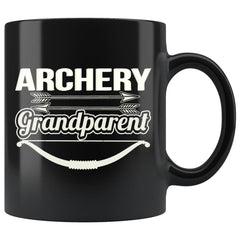 Archery Mug Archery Grandparent 11oz Black Coffee Mugs
