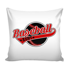 Baseball Aunt Graphic Pillow Cover