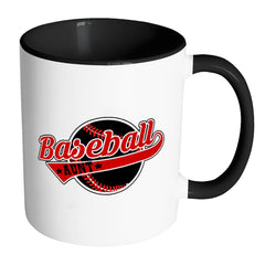 Baseball Aunt Mug Baseball Aunt White 11oz Accent Coffee Mugs