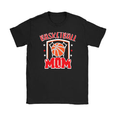 Basketball Mom Shirt Basketball Mom Gildan Womens T-Shirt