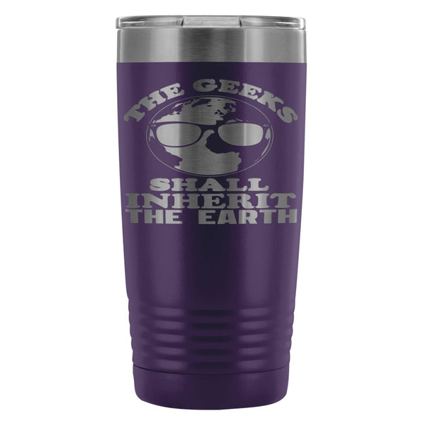 442b29e7e EarthTravel Mug Geeks Shall Inherit The Earth 20oz Stainless Steel Tum |  Odditees