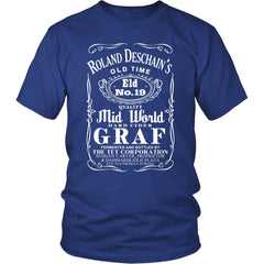 Exclusive Roland Deschain's Quality Mid World Graf Unisex Tshirts