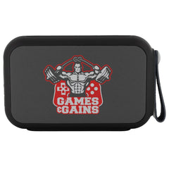 Games And Gains Gym Gamer Wireless Bluetooth Speaker Thumpah