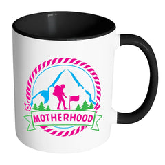 Motherhood Mug White 11oz Accent Coffee Mugs