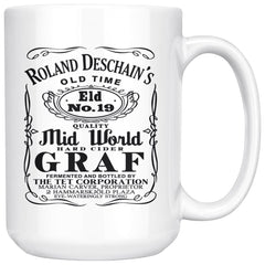 Roland Deschain's Quality Mid World Graf 15oz White Coffee Mugs