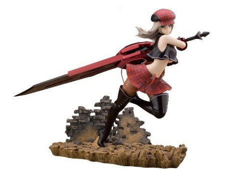 God Eater Sexy Model Action Figure BURST Alisa Llyinichna Omela PVC