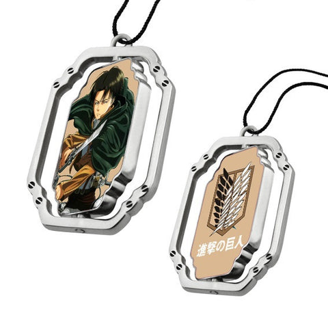 Attack On Titan Metal Pendant Cosplay Anime Necklace