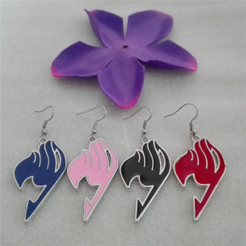 Fairy Tail Womens Anime Earrings 4 Colors