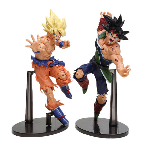 Dragonball Z Bardock & Goku 2 Piece Set PVC Action Figures