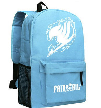 Fairy Tail Anime School Bookbag Backpack 2 Colors