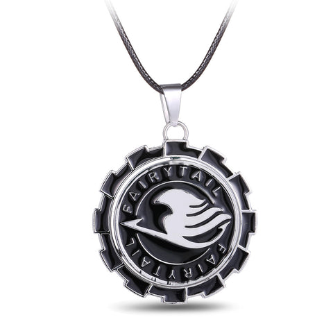 Fairy Tail Metal Gear Anime Necklace