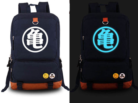 Dragonball Z Son Goku Glow In The Dark School Backpack