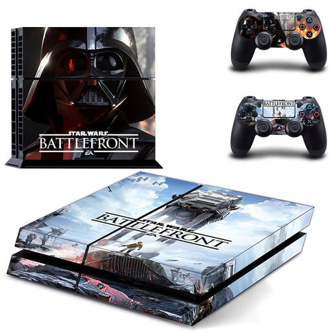 Star Wars Battlefront PS4 Protective Vinyl Skin 2 Controllers