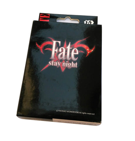 Fate Stay Night Poker Cards