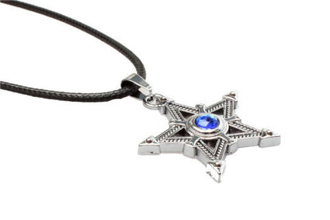 Black Rock Shooter Metal Pentagram Necklace