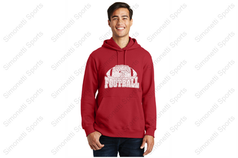Wall Knights Football Hoodie