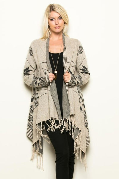 Blanket Cardigan, Top - Eleven Oh Two