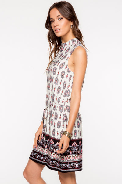 Paisley Shift Dress, Dress - Eleven Oh Two