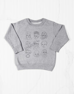 The Original 3x3 Badasses Kids Sweatshirt