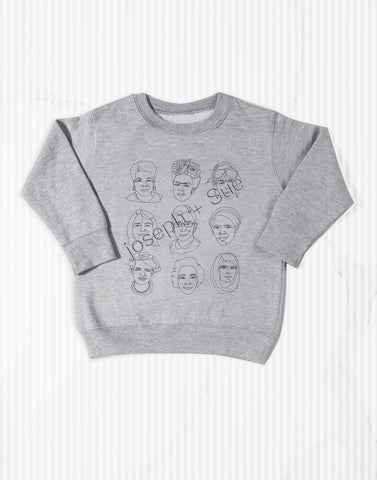 3x3 Badasses Kids Sweatshirt