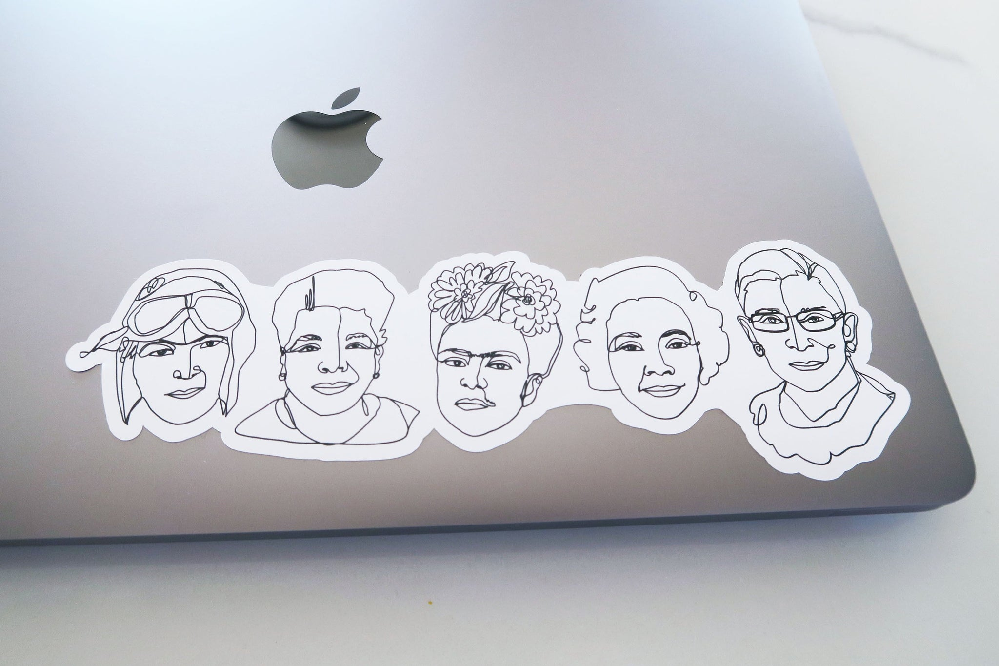 5 Badasses Vinyl Sticker
