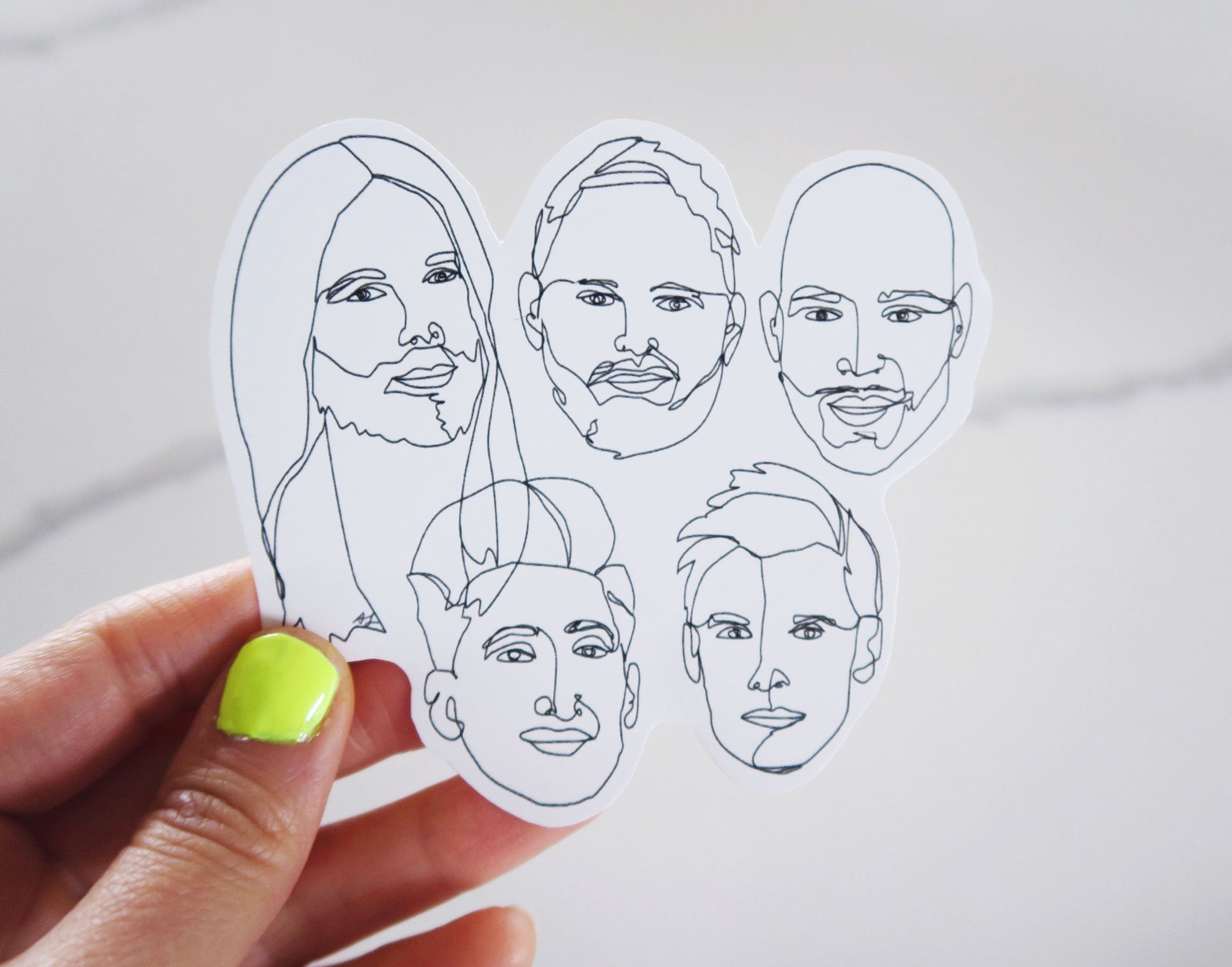 Queer Eye Fan Art Sticker