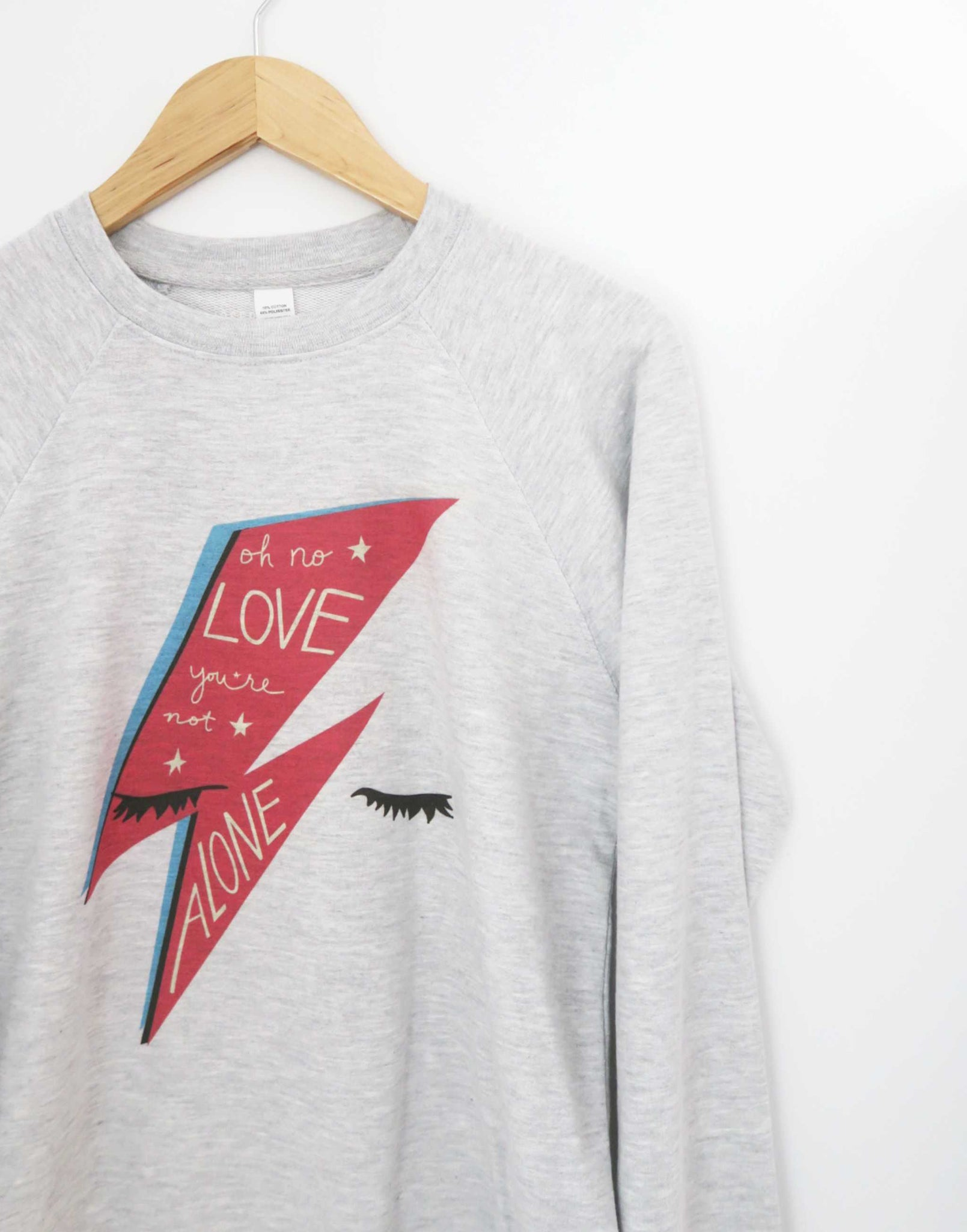Bowie Love Lightweight Sweatshirt