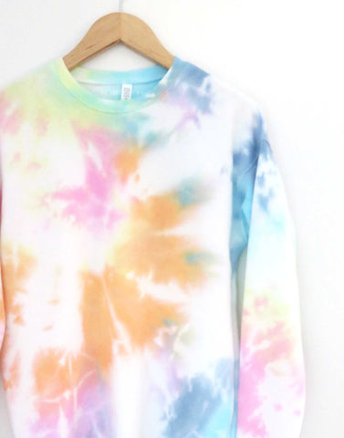 Tie Dye Sweater - Maui Rainbow