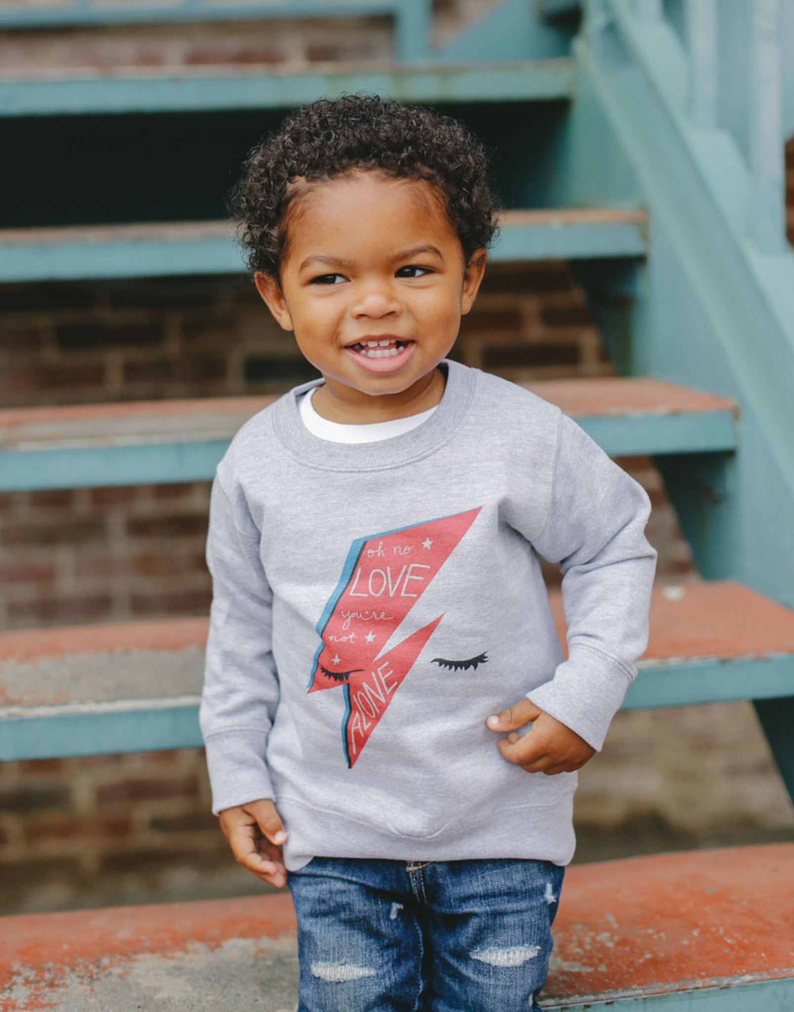 Bowie Love Kids Sweatshirt