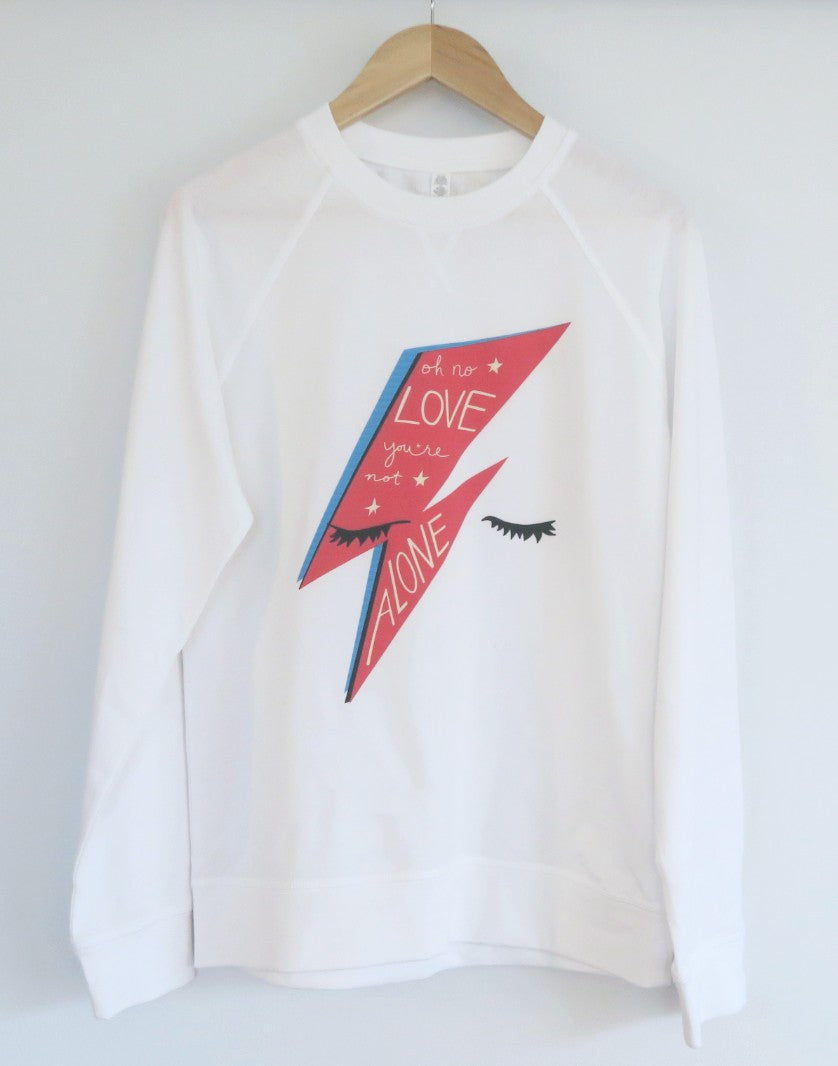 Bowie Love Lightweight Sweater