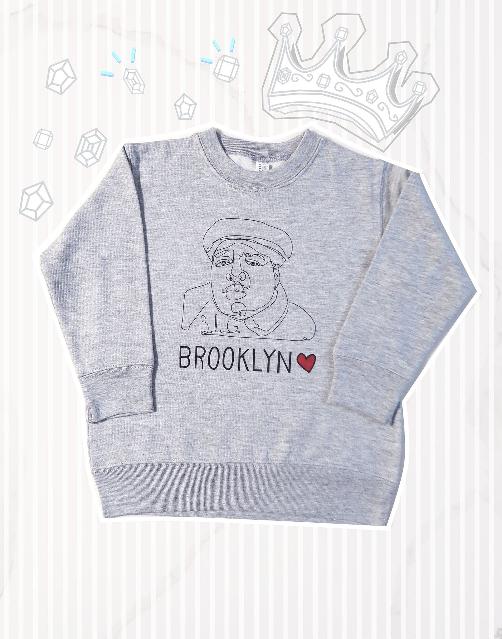 Brooklyn Love Kids Sweatshirt
