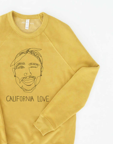 California Love Mustard Sweater