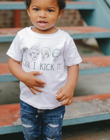 Can I Kick It Kids T-Shirt