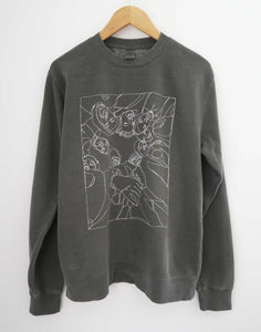 Wu-Tang Fan Art Sweater, Vintage Black Colorways