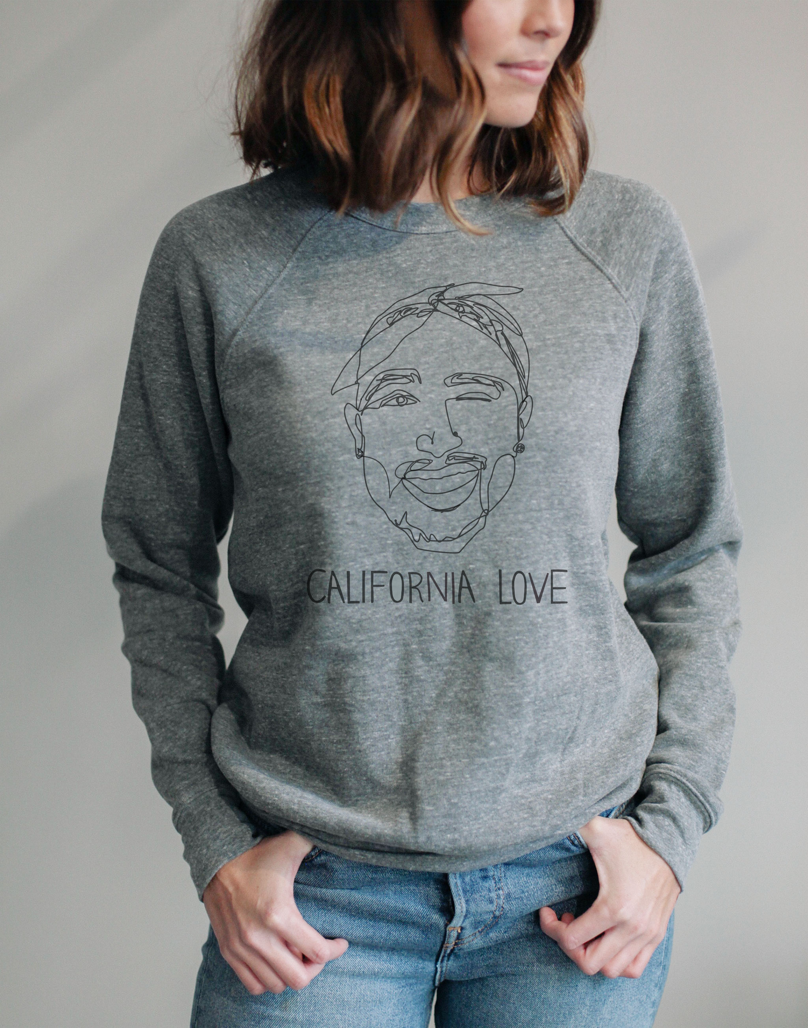 California Love Tupac Sweater