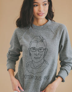 Notorious RBG Adult Sweater