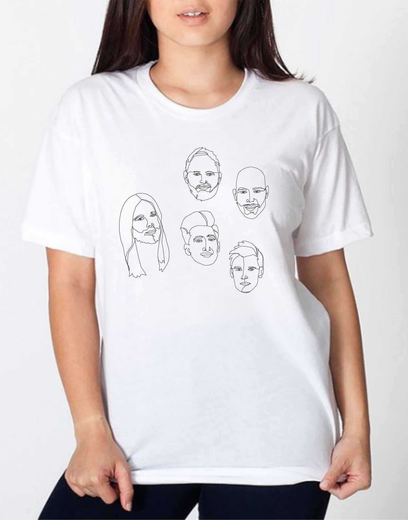 Fab 5 Queer Eye Fan Art T-Shirt