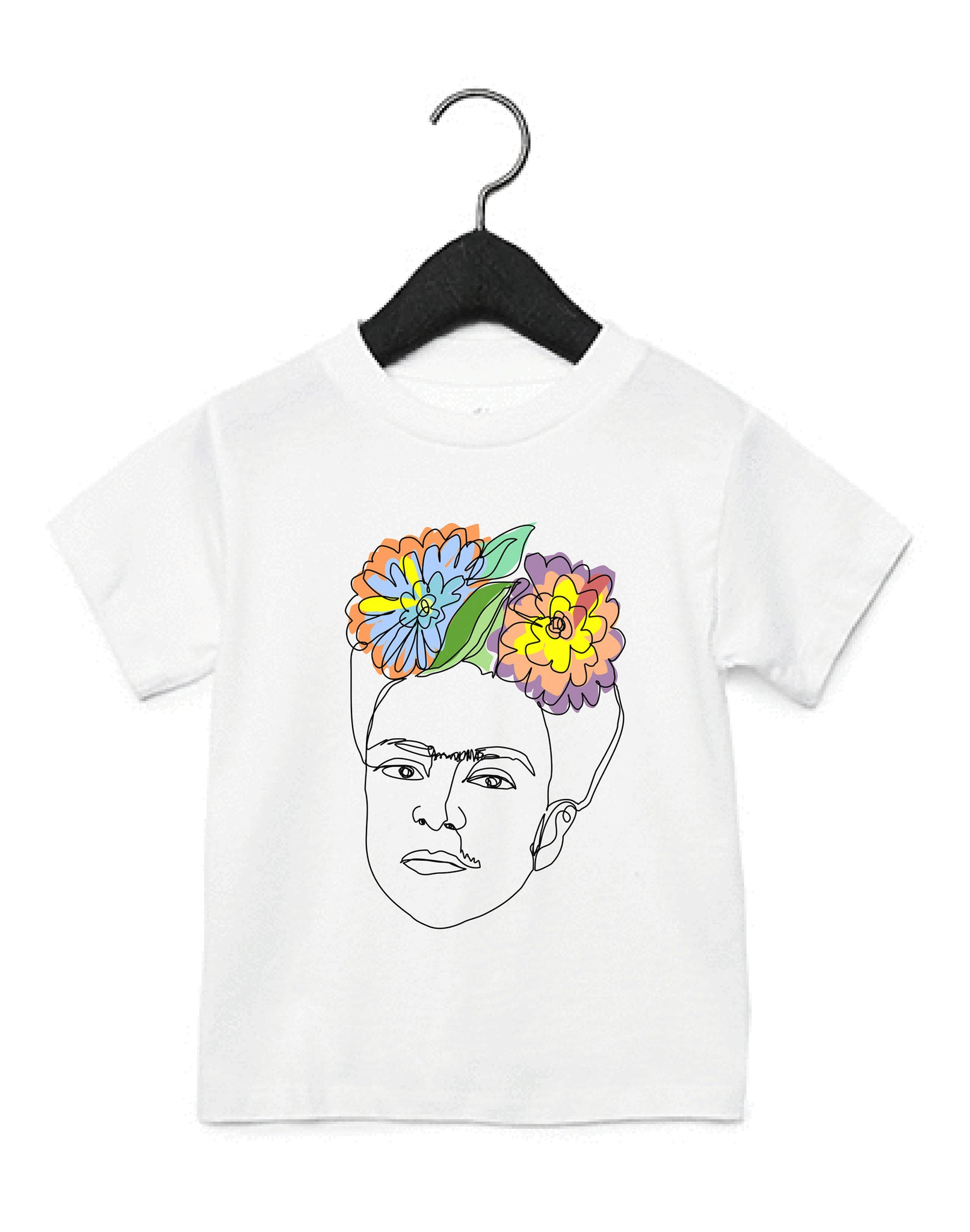 Ode to Frida Kahlo Kids T-Shirt