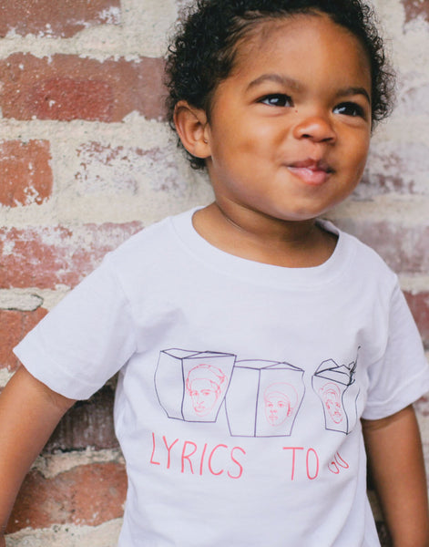 Lyrics To Go, A Tribe Called Quest Kids T-Shirt
