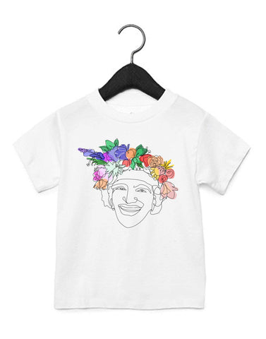 Flowers for Marsha Kids T-Shirt