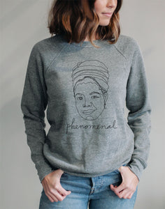 Phenomenal Woman, Maya Angelou Inspired Sweater