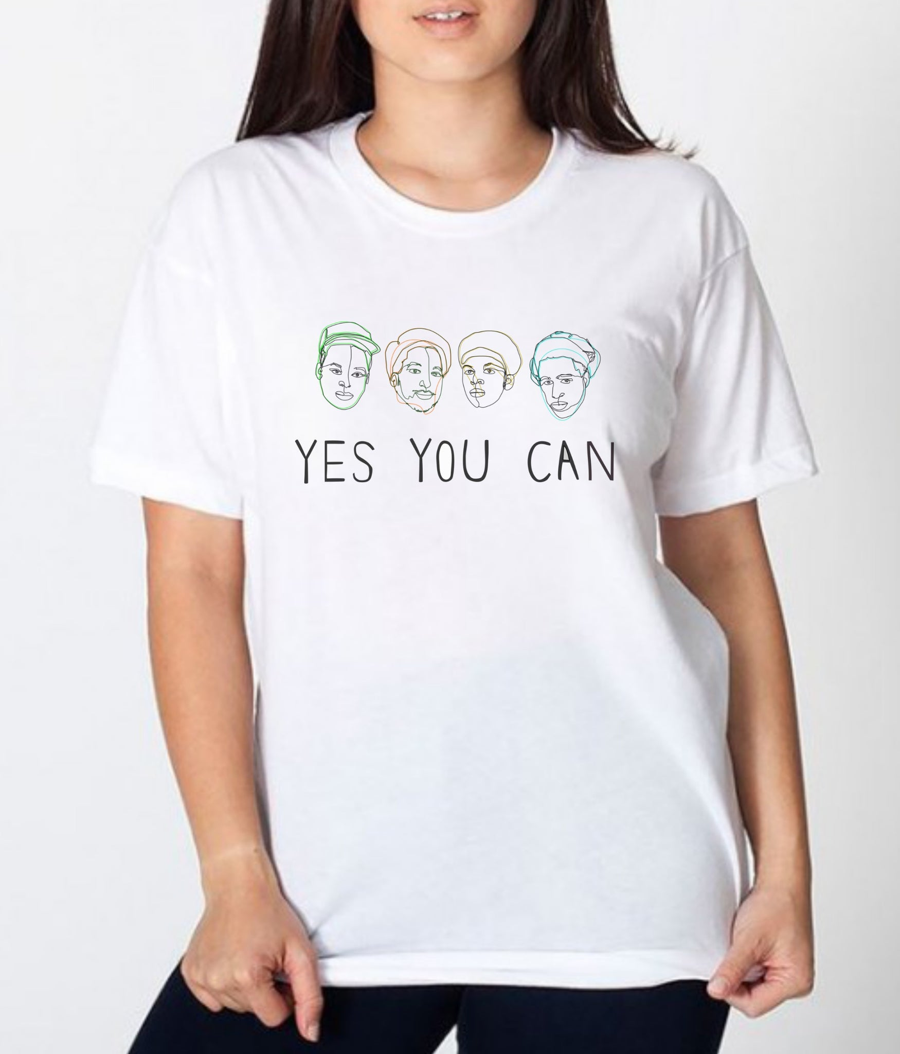 ATCQ Yes You Can T-Shirt (Print on Demand)