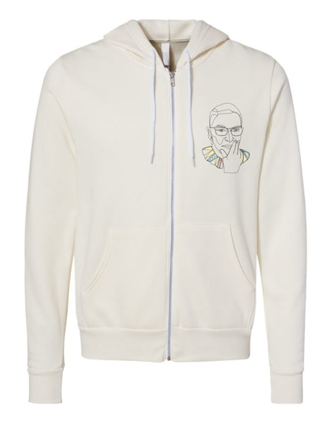 RBG I dissent Zip Hoodie Sweater - Two Options