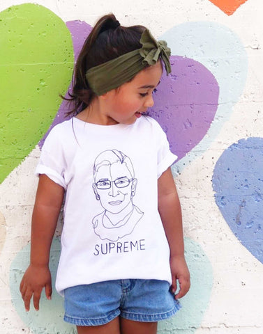 Notorious RBG, Ruth Bader Ginsburg Kids T-Shirt