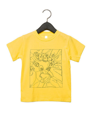 Wu-Tang Fan Art Kids T-Shirt