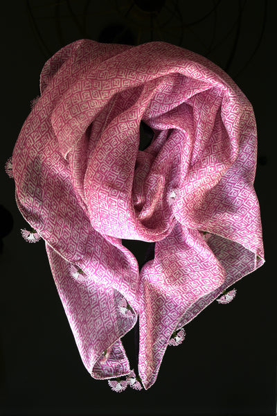 Handmade Silk Scarf - GiGi collection