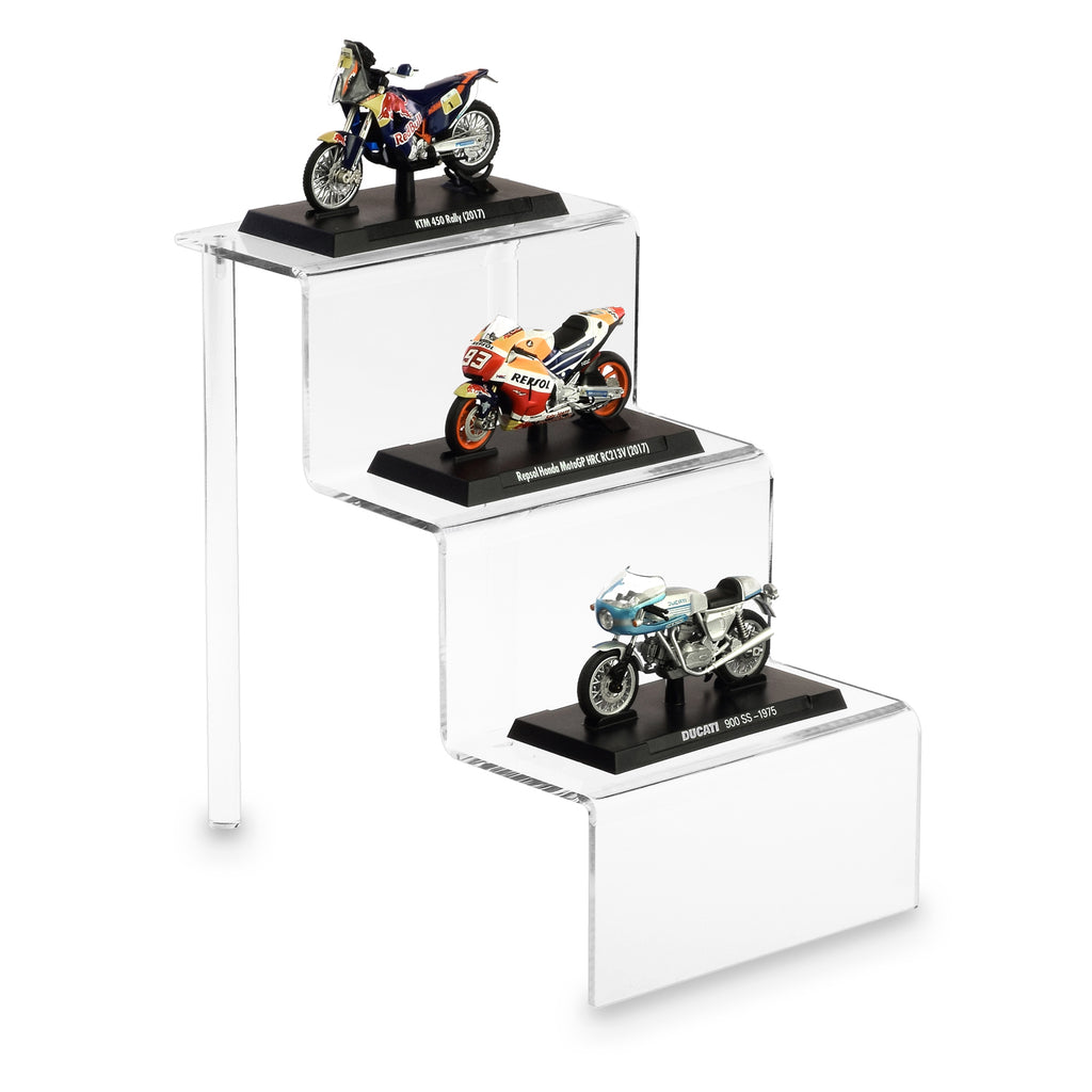 "Ikee Design Acrylic Riser Display Shelf for POP Figures 6""W x 9""D x 9""H"