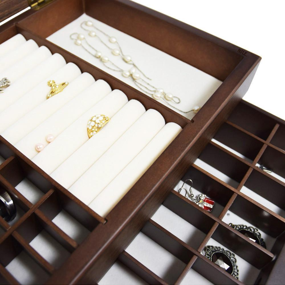 Ikee Design®Personalized Jewelry Organizer w/ Text Engraving